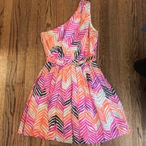 Bright patterned Trina Turk dress!!